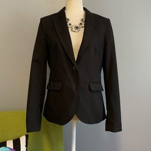H&M Black Tailored Blazer Jacket